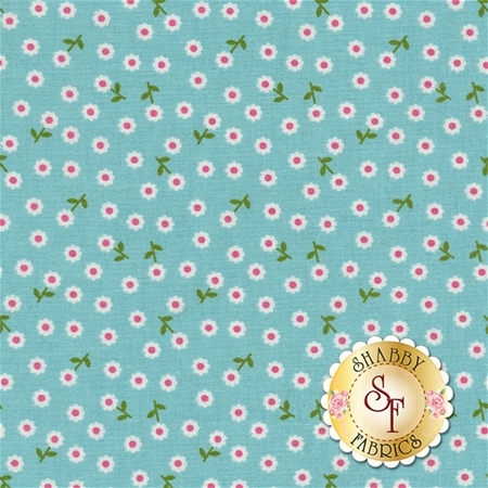 Summer Song 2 C4625-BLUE by Zoe Pearn for Riley Blake Designs