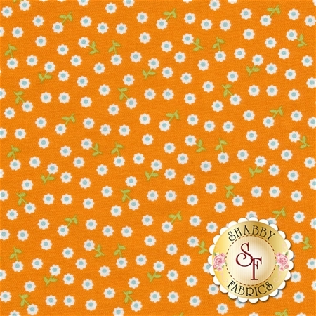Summer Song 2 C4625-ORANGE by Zoe Pearn for Riley Blake Designs