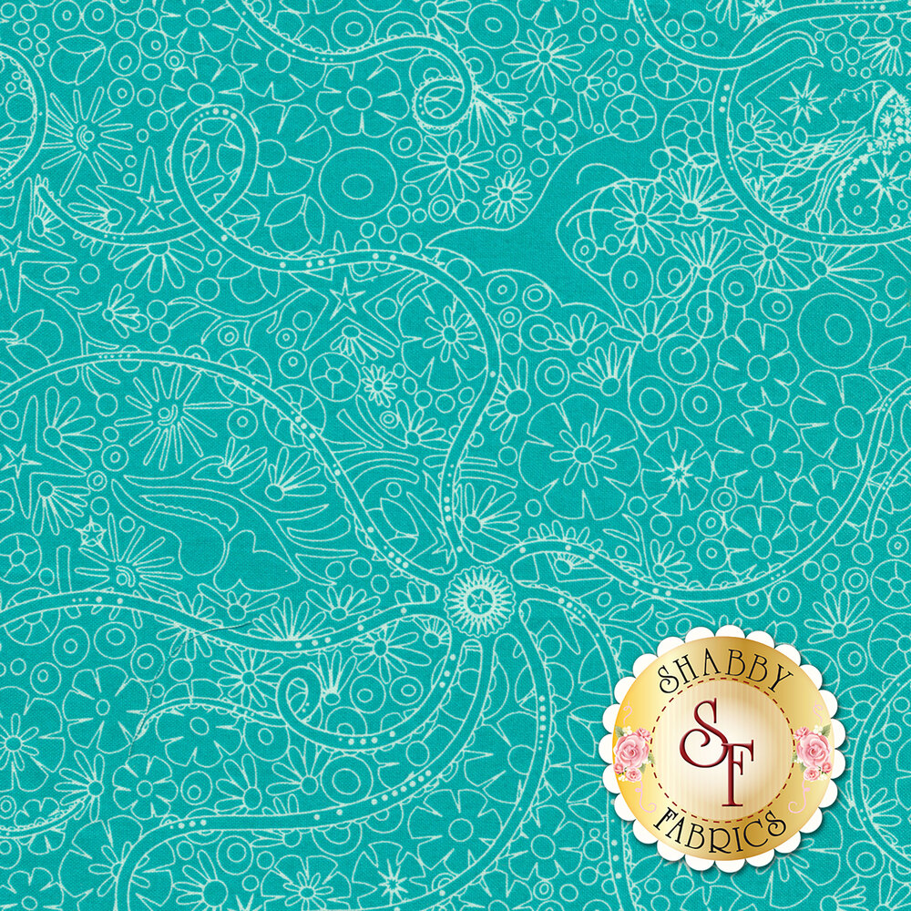 Sun Print A-8674-T by Andover Fabrics
