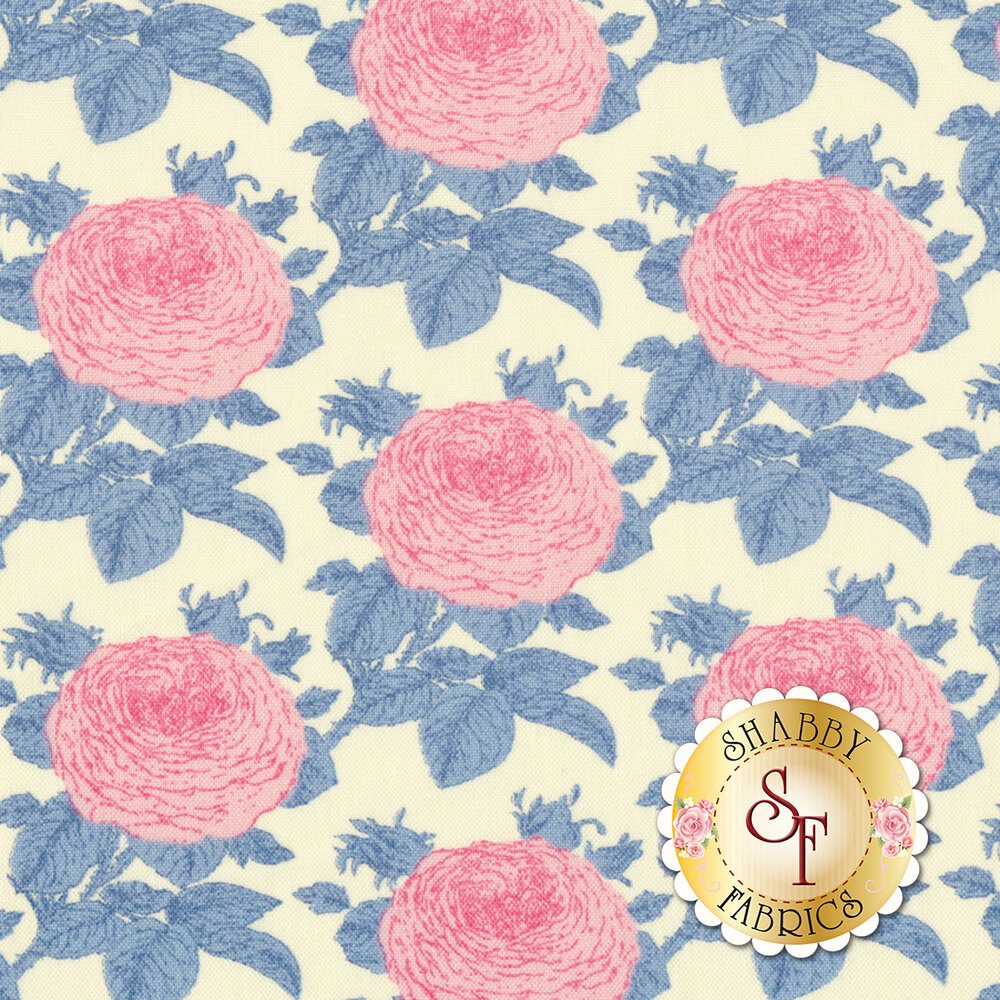 Sunkiss 100036 Grandma Rose Blue by Tilda