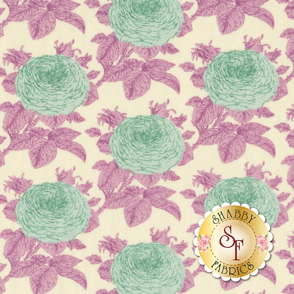 Sunkiss 100037 Grandma Rose Lilac by Tilda REM