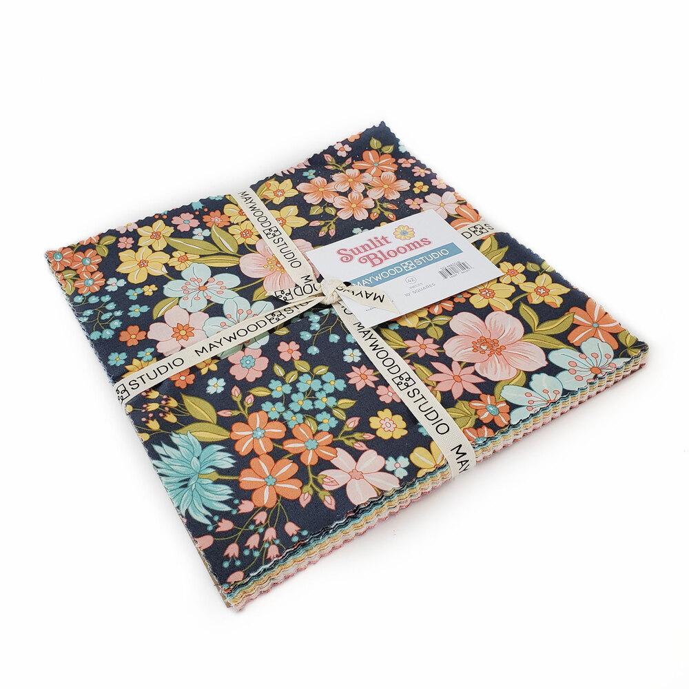 "Sunlit Blooms  10"" Squares by Maywood Studio | Shabby Fabrics"