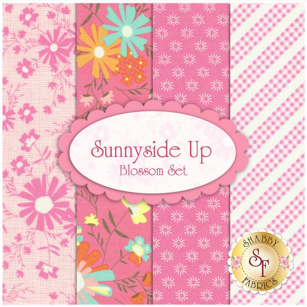 Sunnyside Up 4 FQ Set - Blossom Set by Corey Yoder