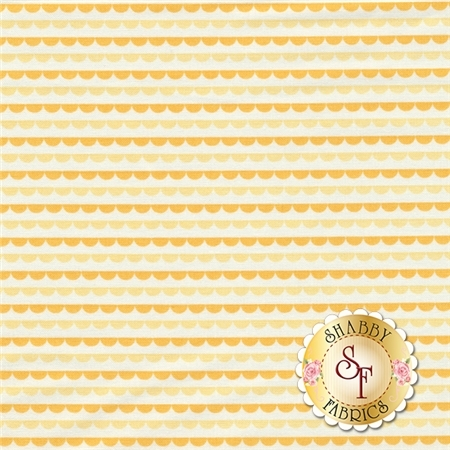Sunrise Studio 2 LHC14036-BUTTER Butter Small Border by Holly Holderman for Lakehouse Dry Goods