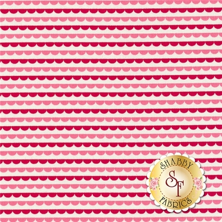 Sunrise Studio 2 LHC14036-RED Red Small Border by Holly Holderman for Lakehouse Dry Goods