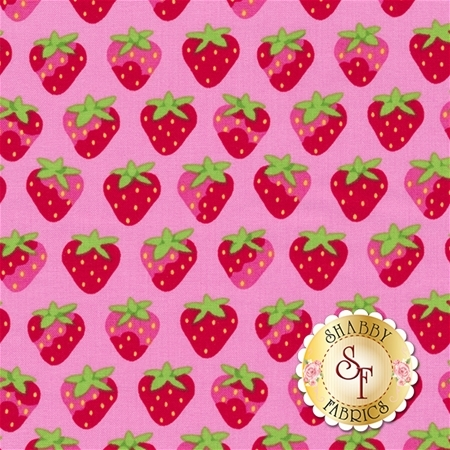 Sunrise Studio 2 LHC14046-PETUNIA Petunia Strawberries by Holly Holderman for Lakehouse Dry Goods