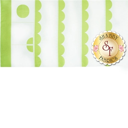 Sunrise Studio  14023-Lettuce Scallop Panel by Lakehouse Dry Goods - Holly Holderman
