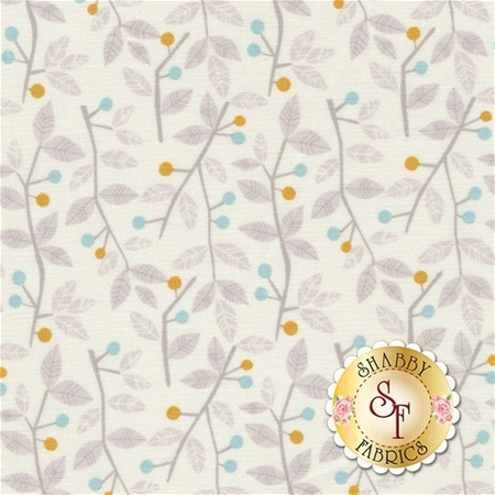 Sweet Dreams 101.130.05.2 Twigs & Berries Blue by Maude Asbury for Blend Fabrics