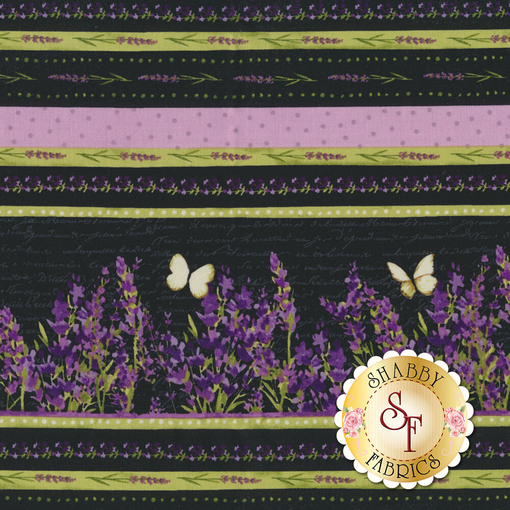 Sweet Lavender Y2647-3 by Clothworks Fabrics available at Shabby Fabrics