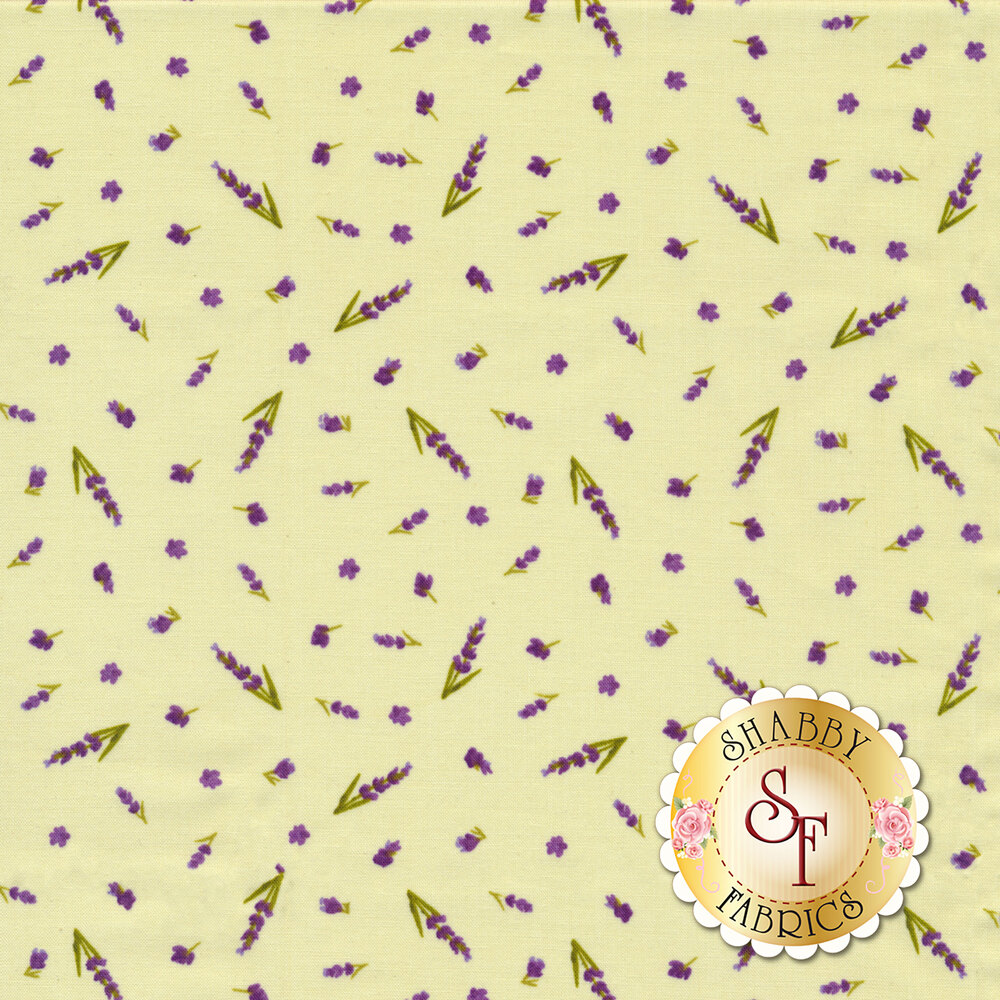 Sweet Lavender Y2650-23 by Clothworks Fabrics available at Shabby Fabrics