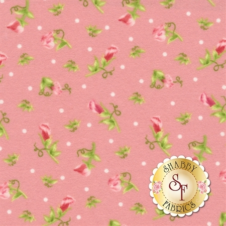 Sweet Pea Flannel F8125-P by Maywood Studio Fabrics