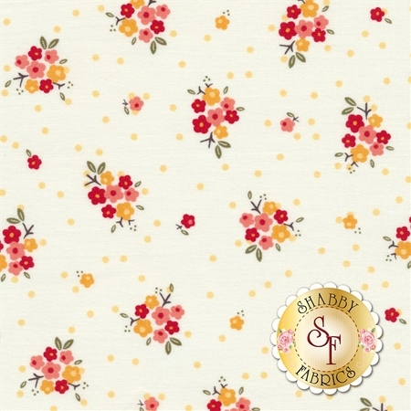 Sweet Prairie C6541-WHITE by Riley Blake Designs