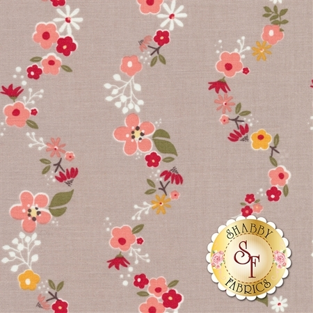 Sweet Prairie C6544-GRAY by Riley Blake Designs