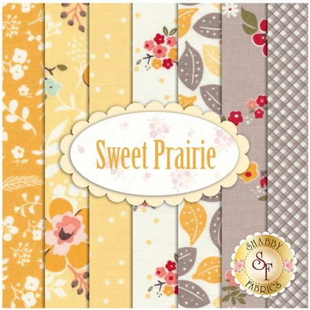 Sweet Prairie  7 FQ Set by Riley Blake Designs