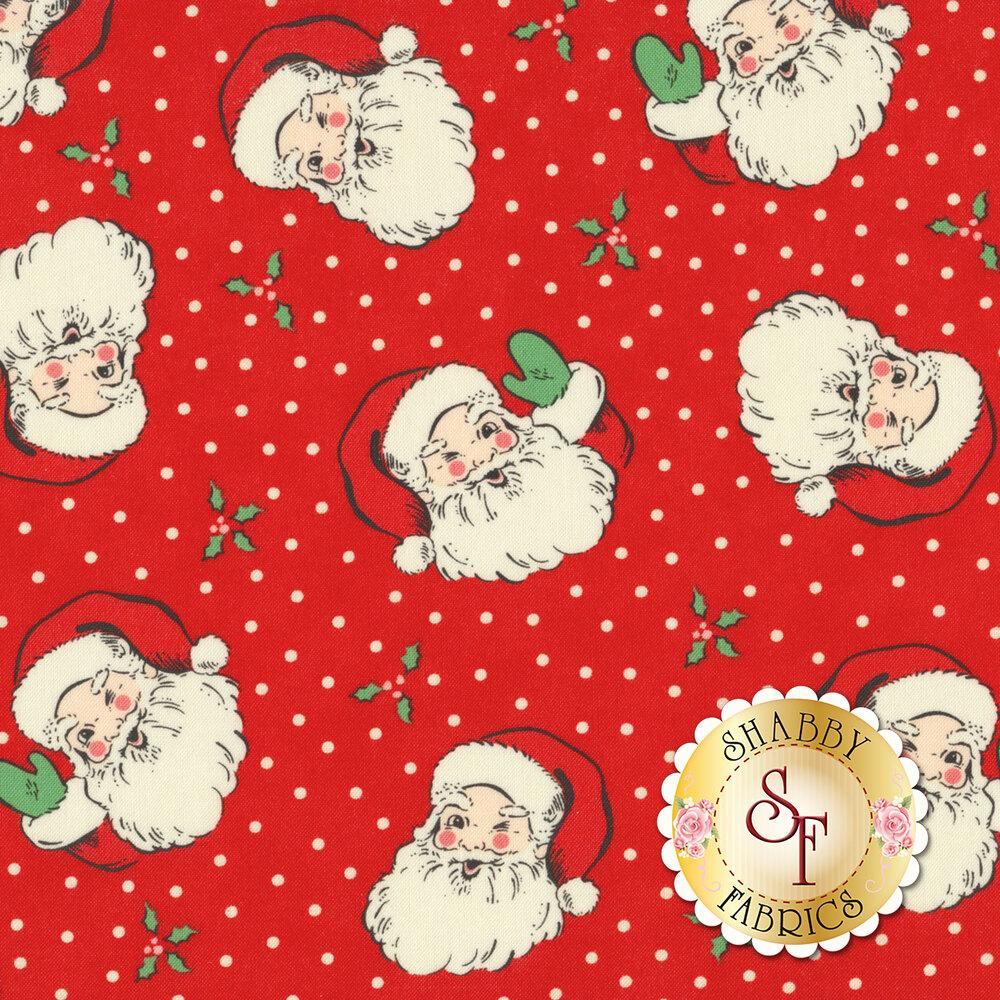 Moda Christmas Fabric 2019.Swell Christmas 31120 13 Santa Red By Moda Fabrics