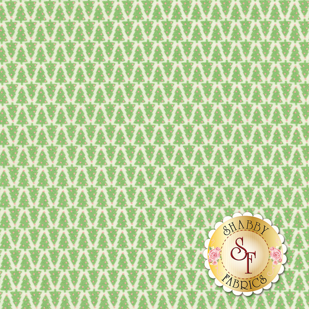 Swell Christmas 31125-11 Christmas Tree Natural for Moda Fabrics