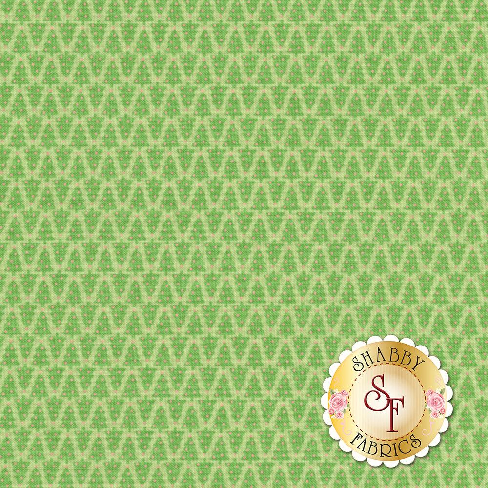 Swell Christmas 31125-19 Christmas Tree Light Green for Moda Fabrics