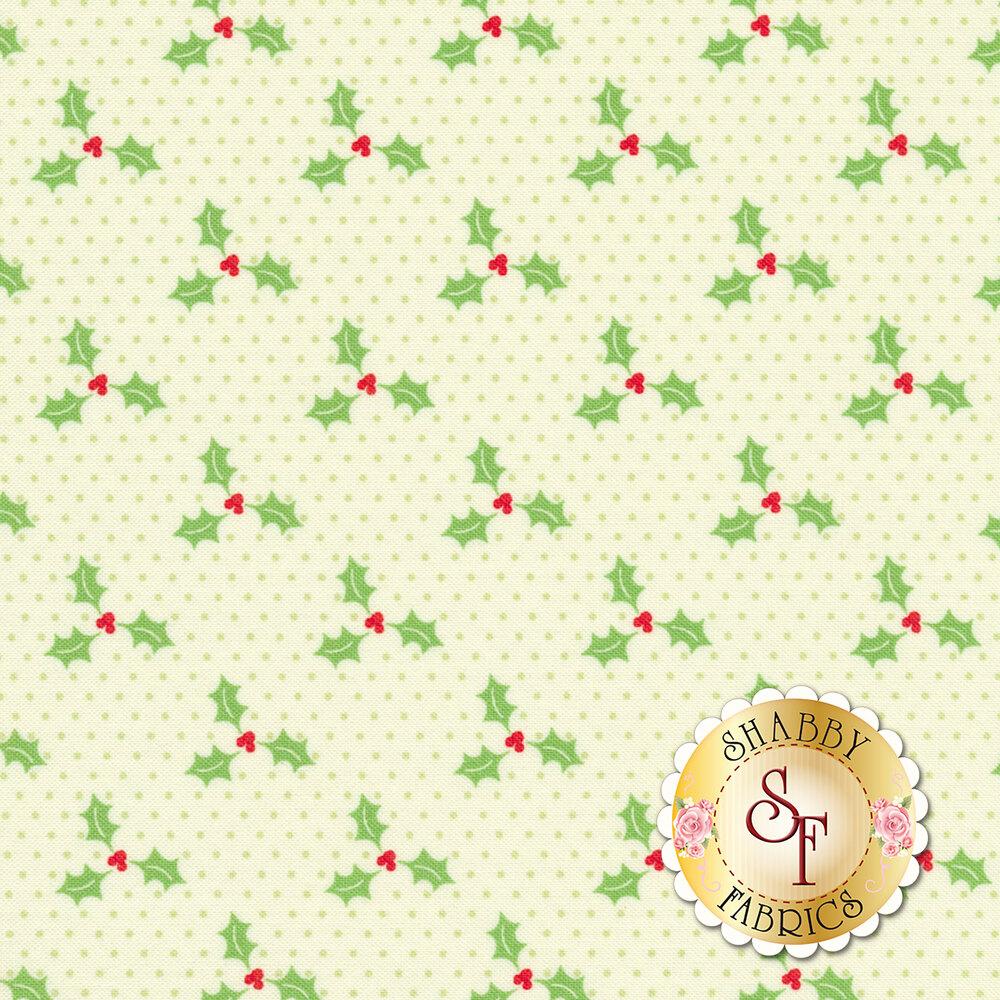Swell Christmas 31126-11 Holly Light Green for Moda Fabrics