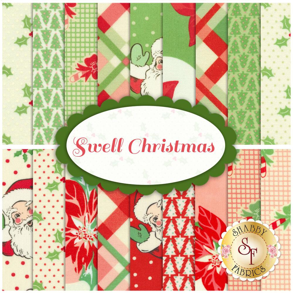 Swell Christmas 18 FQ Set by Urban Chiks for Moda Fabrics
