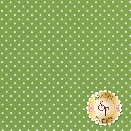 Swiss Dot C670-GREEN by Riley Blake Designs