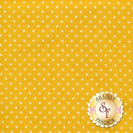 Swiss Dots C670-MUSTARD by Riley Blake Designs