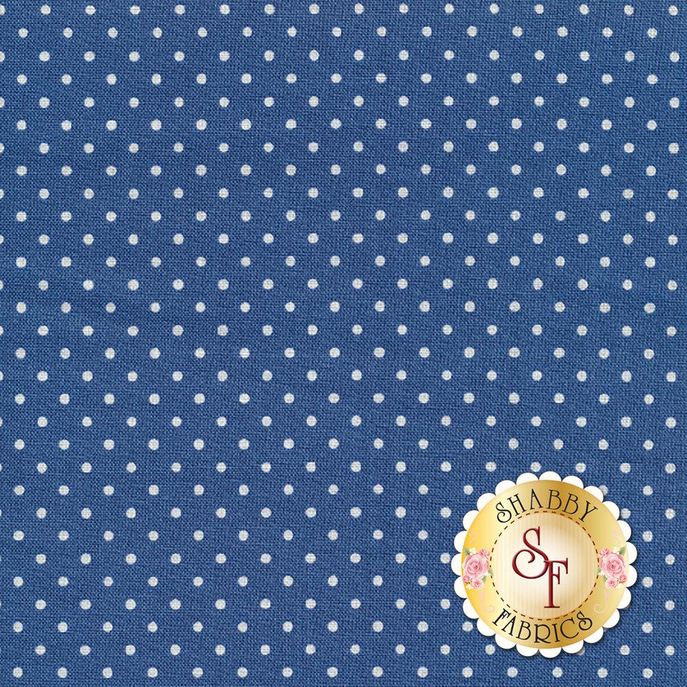 Swiss Dots C670-DENIM by Riley Blake Designs