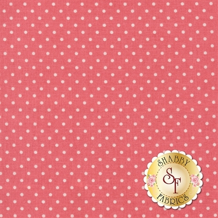 Swiss Dot C670-LIPSTICK by Riley Blake Designs
