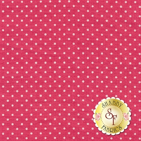 Swiss Dots C670-RASPBERRY by Riley Blake Designs