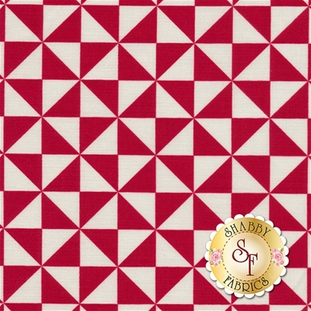 Teddy Bear Picnic C6054-RED by Melly & Me for Riley Blake Designs