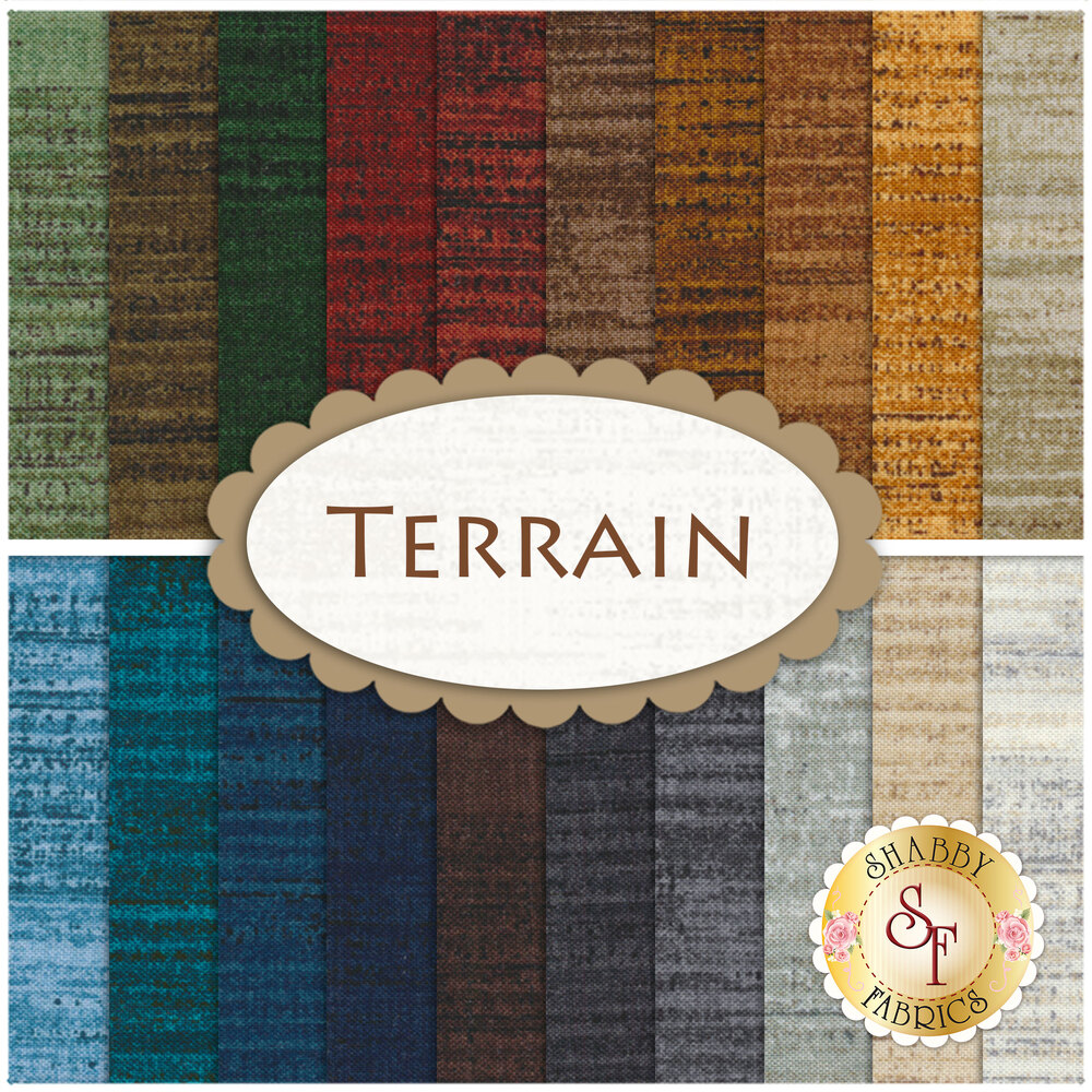 Terrain 20 FQ Set for Windham Fabrics