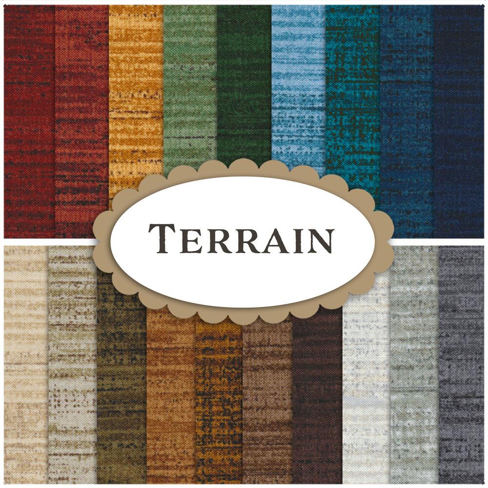 Terrain 19 FQ Set for Windham Fabrics