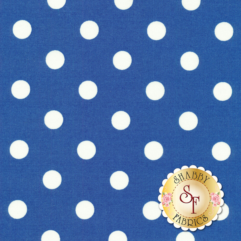 That's It Dot CX2489-COBA for Michael Miller available at Shabby Fabrics