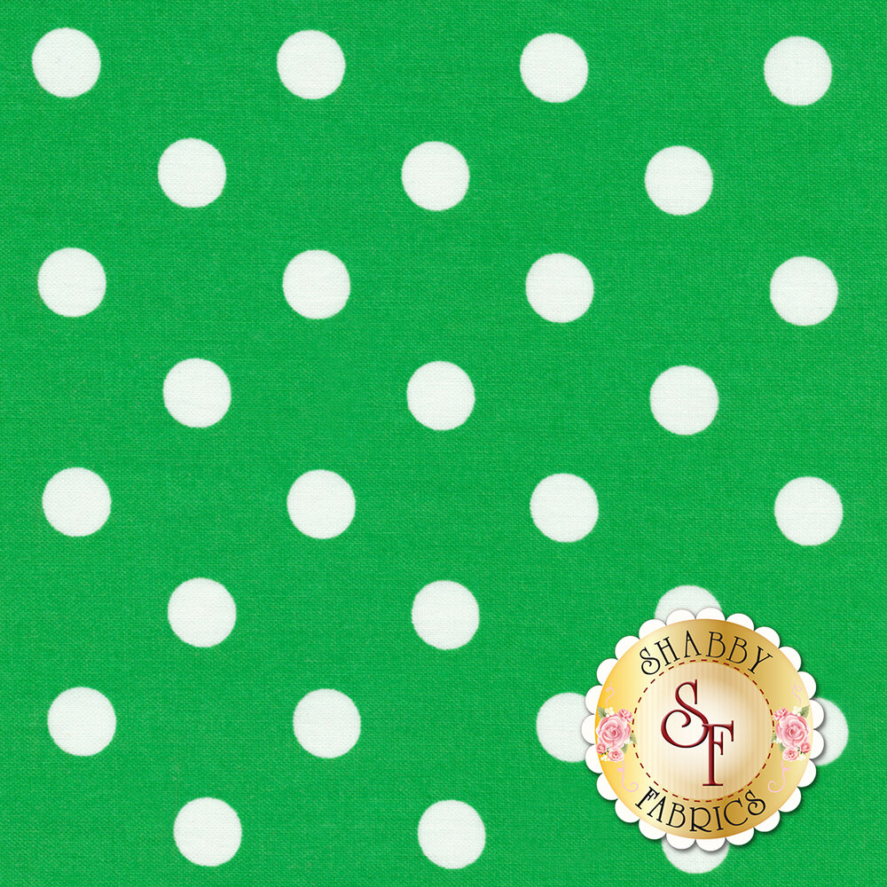 That's It Dot CX2489-KELL by Michael Miller available at Shabby Fabrics