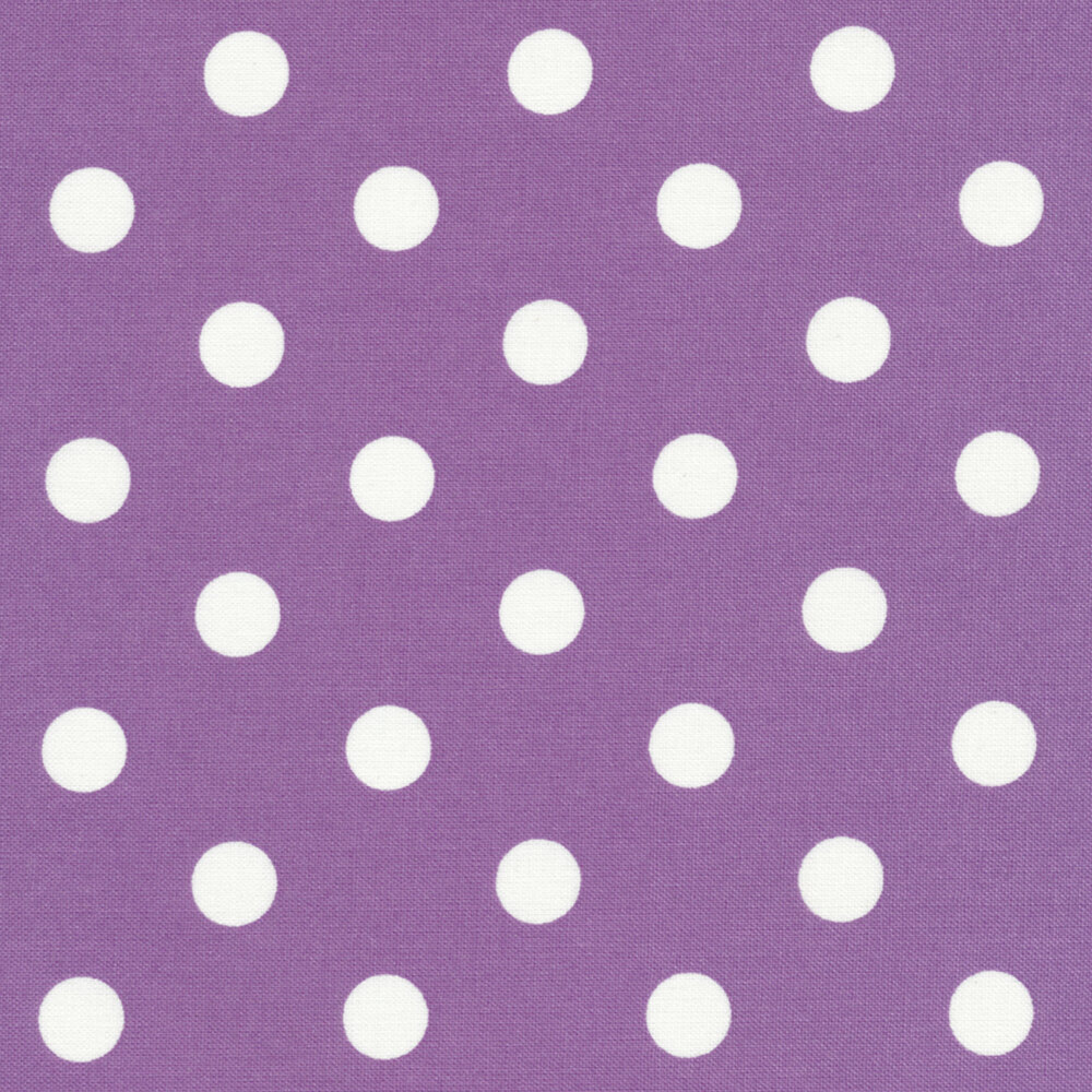 That's It Dot CX2489-LAVE by Michael Miller available at Shabby Fabrics