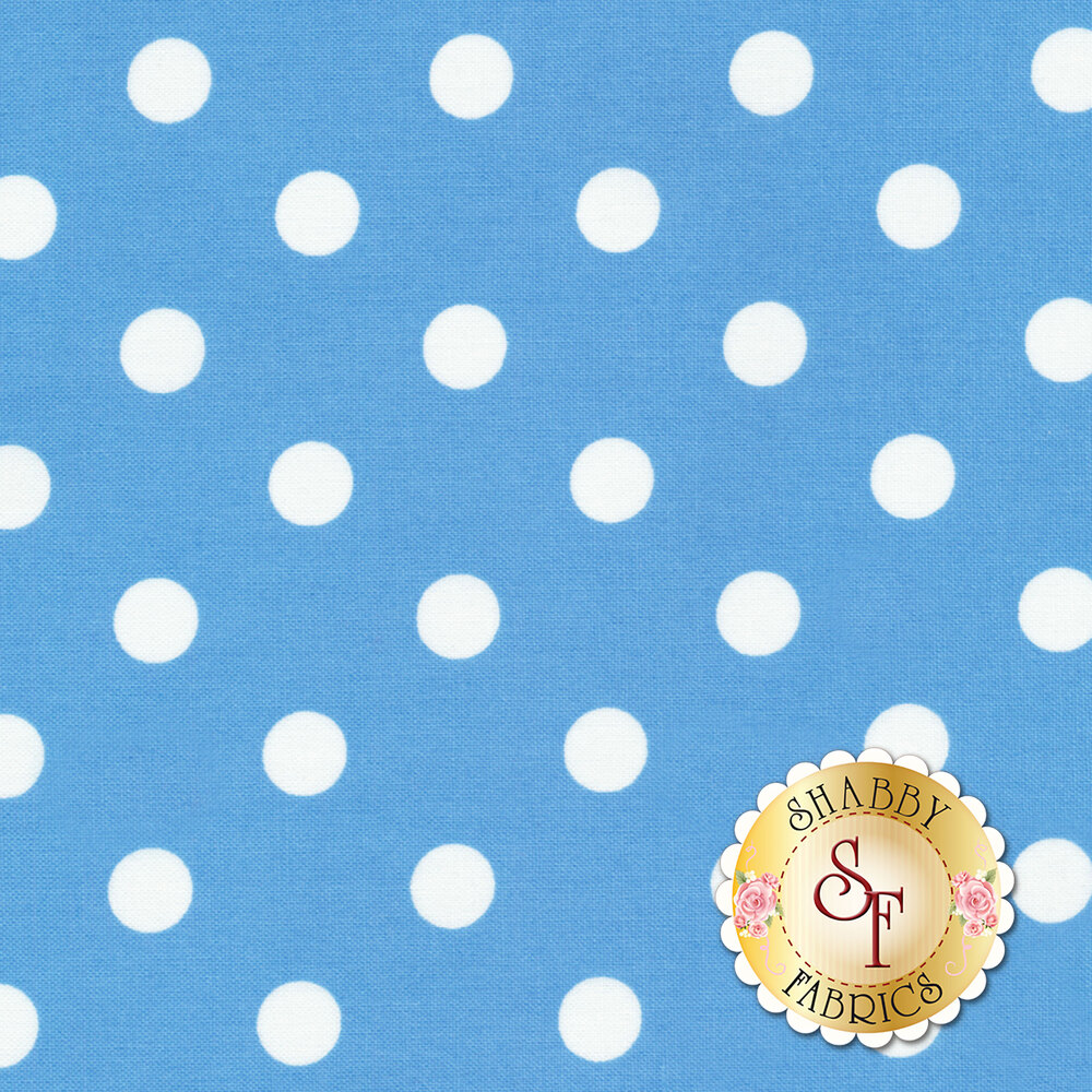 That's It Dot CX2489-PERI by Michael Miller Available at Shabby Fabrics
