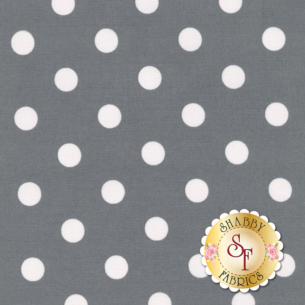 That's It Dot CX2489-PEWT by Michael Miller available at Shabby Fabrics