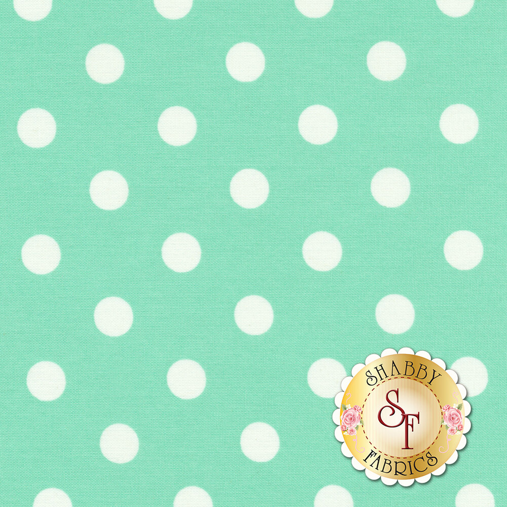 That's It Dot CX2489-PIST by Michael Miller available at Shabby Fabrics