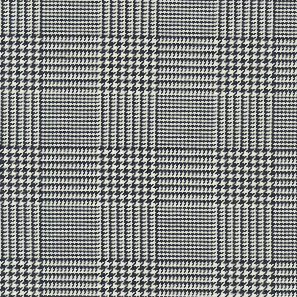 Black and white checkered plaid design | Shabby Fabrics