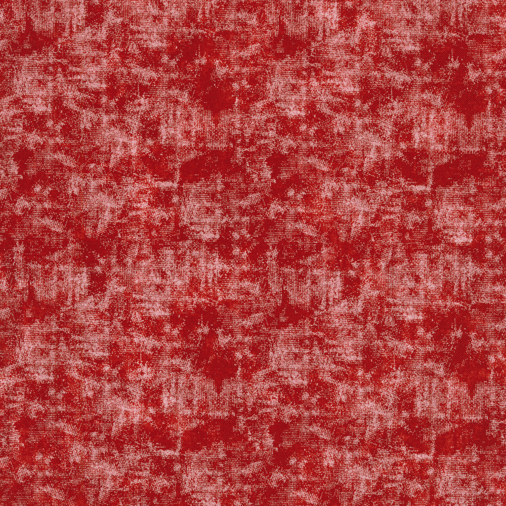Red fabric with white distressed look   Shabby Fabrics