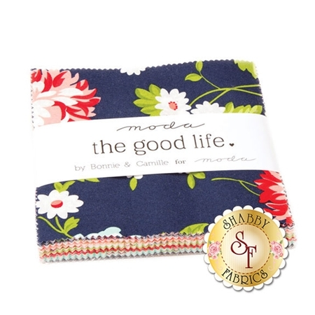 The Good Life  Charm Pack by Bonnie & Camille for Moda Fabrics