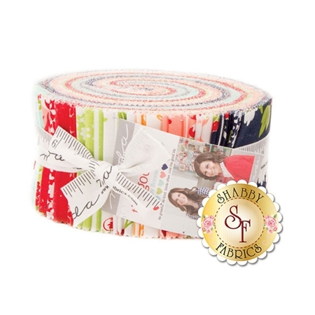 The Good Life  Jelly Roll by Bonnie & Camille for Moda Fabrics