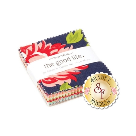 The Good Life  Mini Charm Pack by Bonnie & Camille for Moda Fabrics