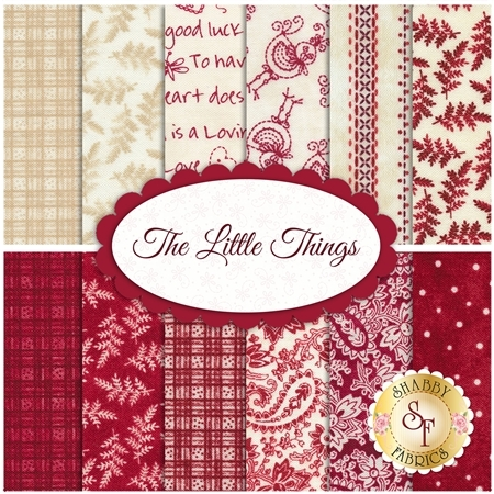 The Little Things  12 FQ Set by Maywood Studio