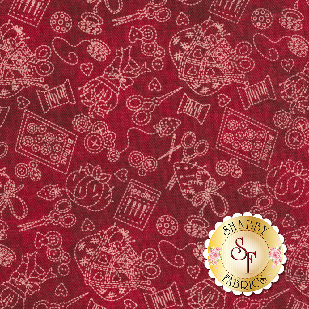 The Little Things 9100-R by Maywood Studio available at Shabby Fabrics