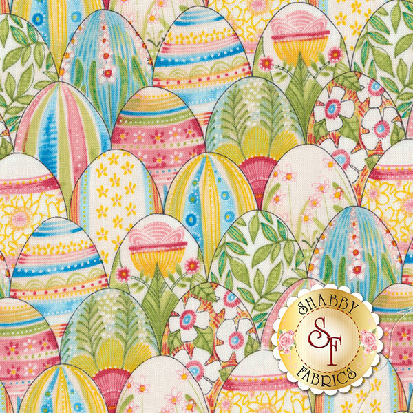 The Promise Of Spring 112.113.03.1 Colorful Find Multi by Cori Dantini for Blend Fabrics