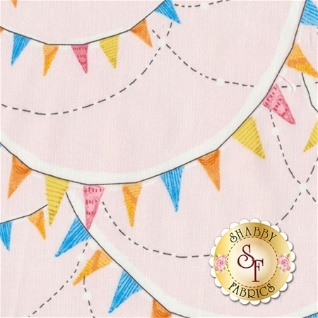 The Promise Of Spring 112.113.06.2 Glory Days Pink by Cori Dantini for Blend Fabrics