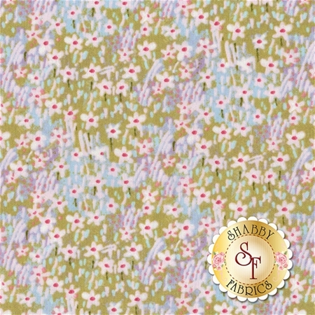 The Promise Of Spring 112.113.07.2 Field of Flowers Blue by Cori Dantini for Blend Fabrics
