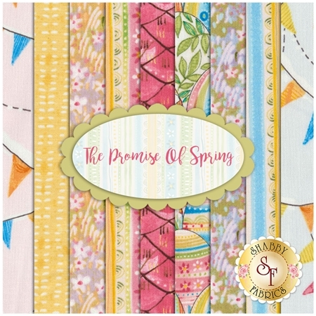 The Promise Of Spring  9 FQ Set by Blend Fabrics