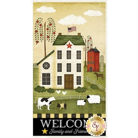 The Way Home 82496-759 Large Panel Multi by Jennifer Pugh for Wilmington Prints