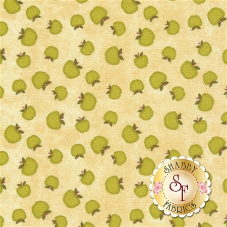 The Way Home 82501-277 Apples A/O Tan by Jennifer Pugh for Wilmington Prints